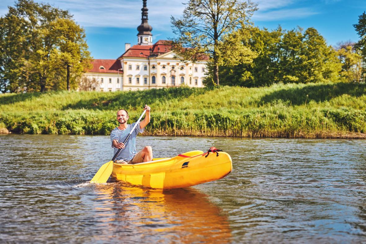 Vodní turistika v Olomouci