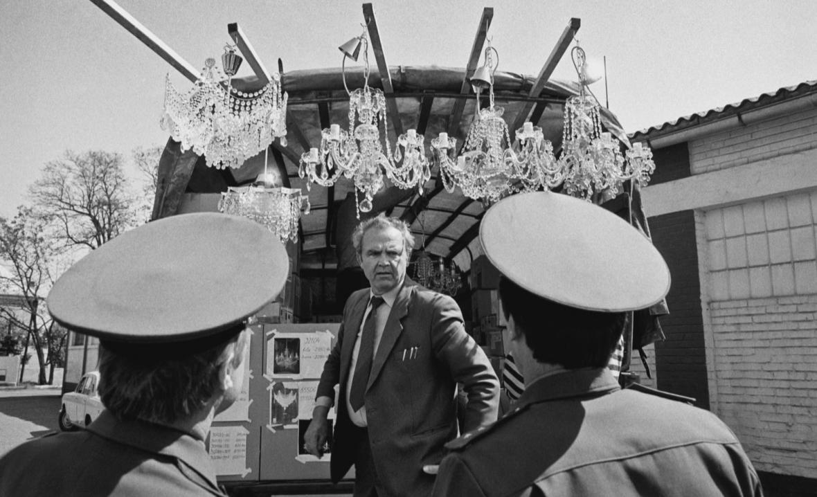 Odsun sovětů z Československa zachycený objektivem Dany Kyndrové