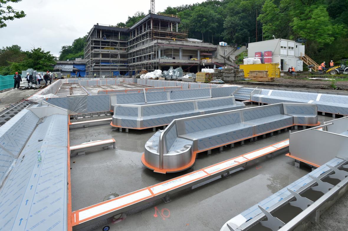 Rekonstrukce bazénu hotelu Thermal v Karlových Varech