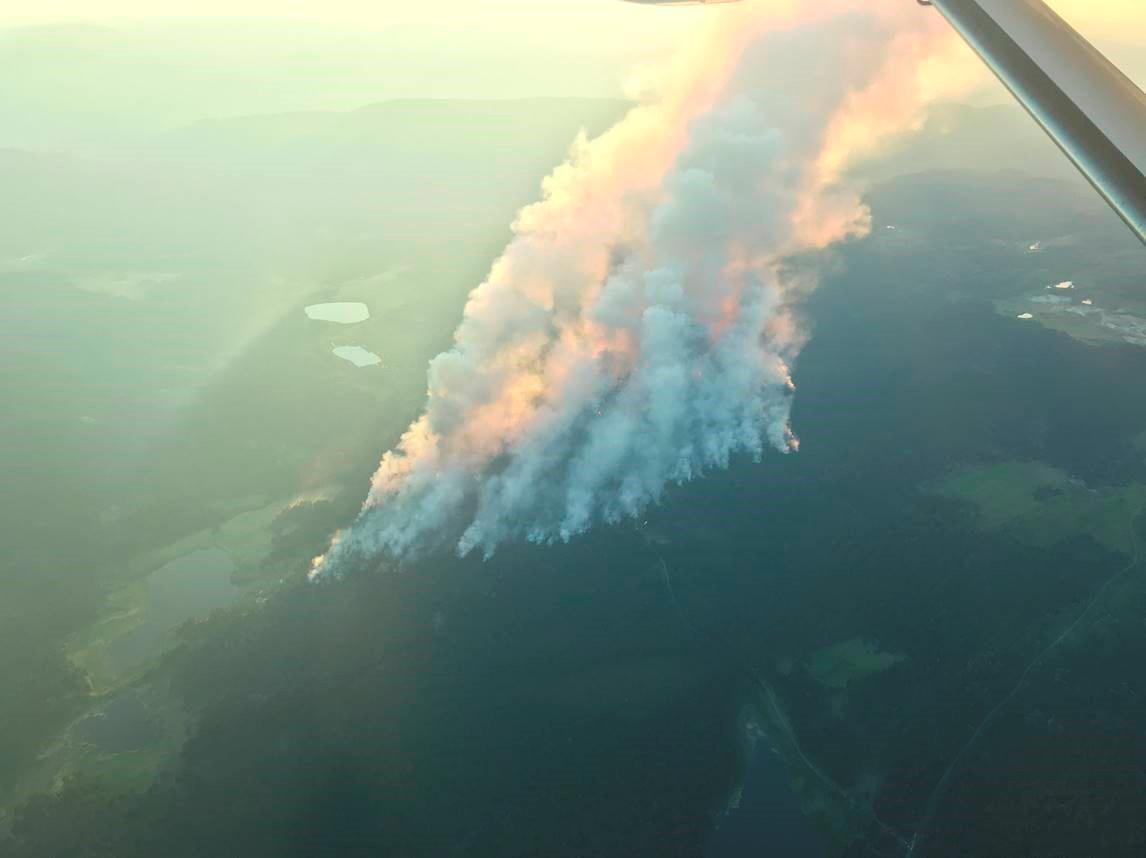 Požáry v Kanadě