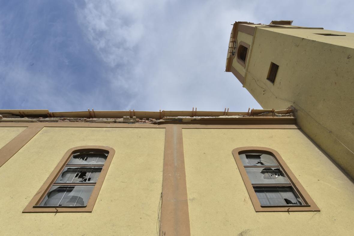 Kostel v Moravské Nové Vsi