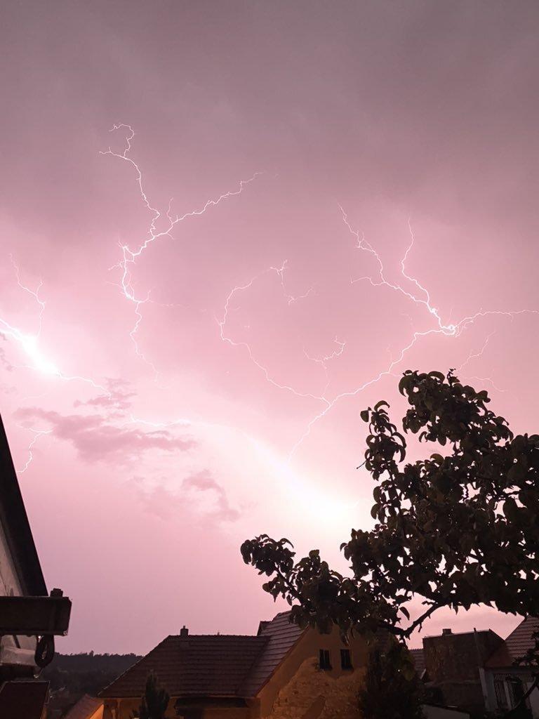 Bouřka na Kladensku