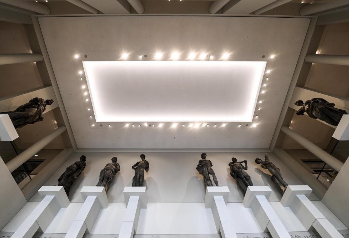 Sbírka soch v Humboldtově fóru