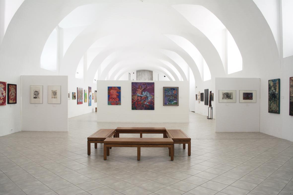 Z výstavy Zbyšek Sion: Výběr obrazů a kreseb z 60. a 70. let