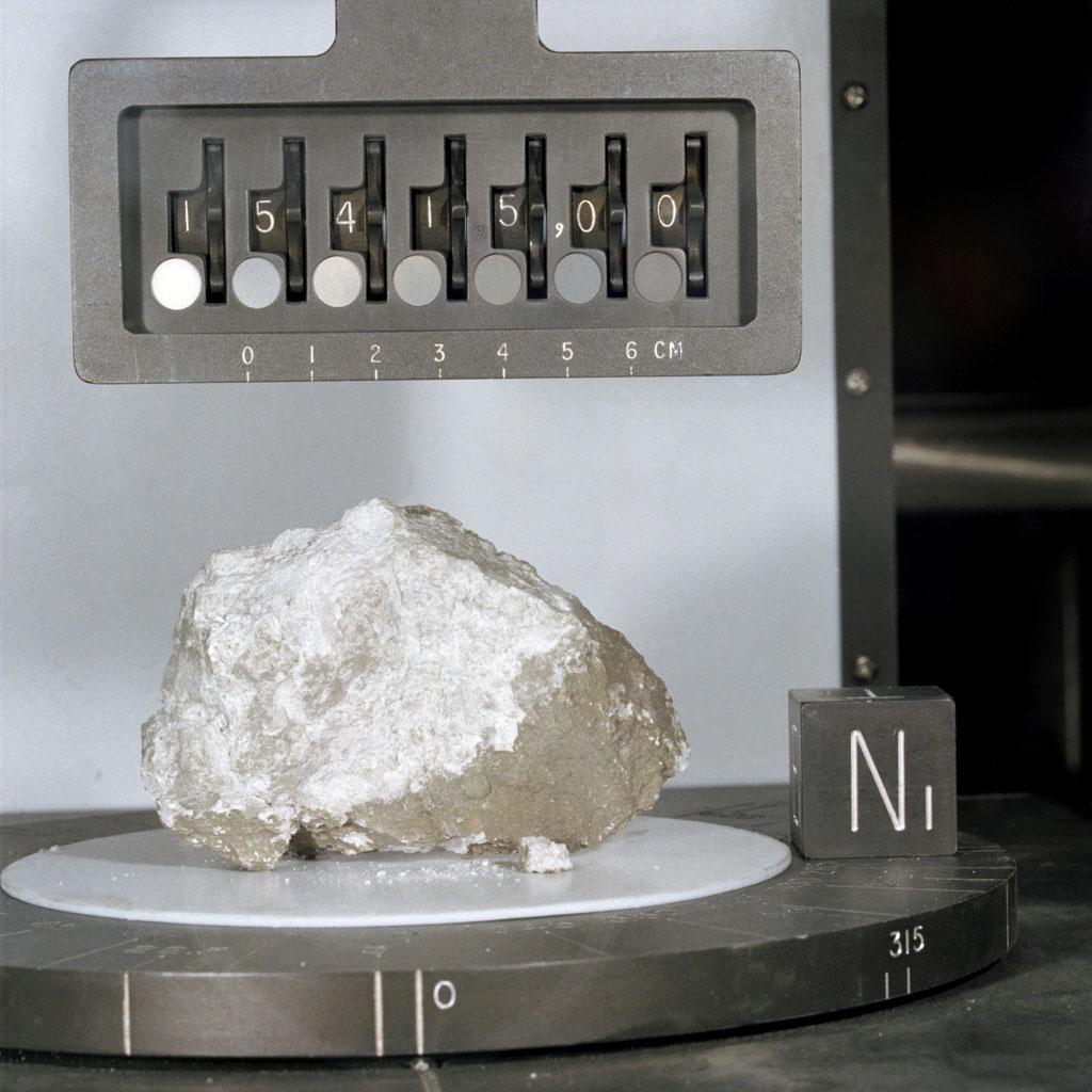 Kámen přezdívaný Genesis Rock