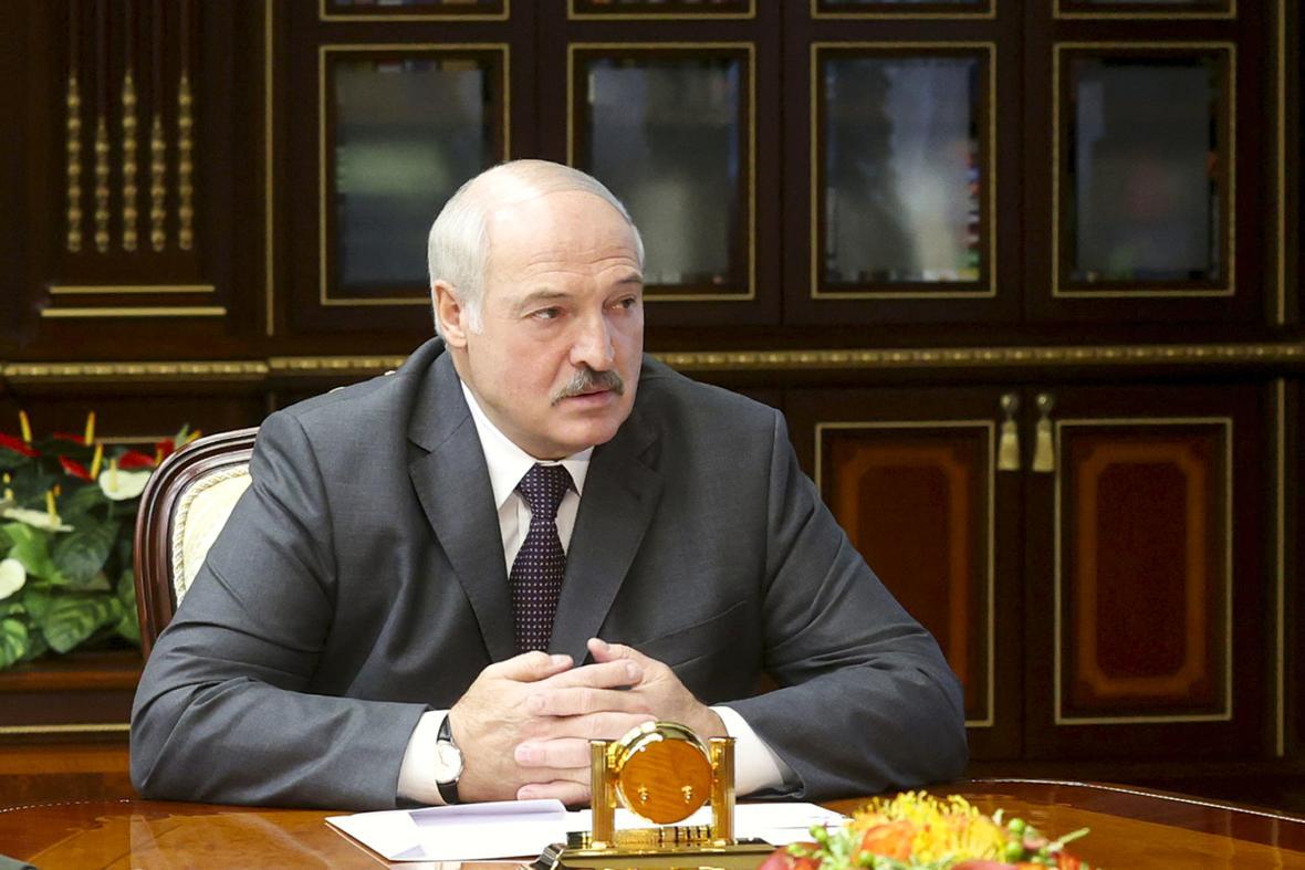 Běloruský vůdce Alexandr Lukašenko