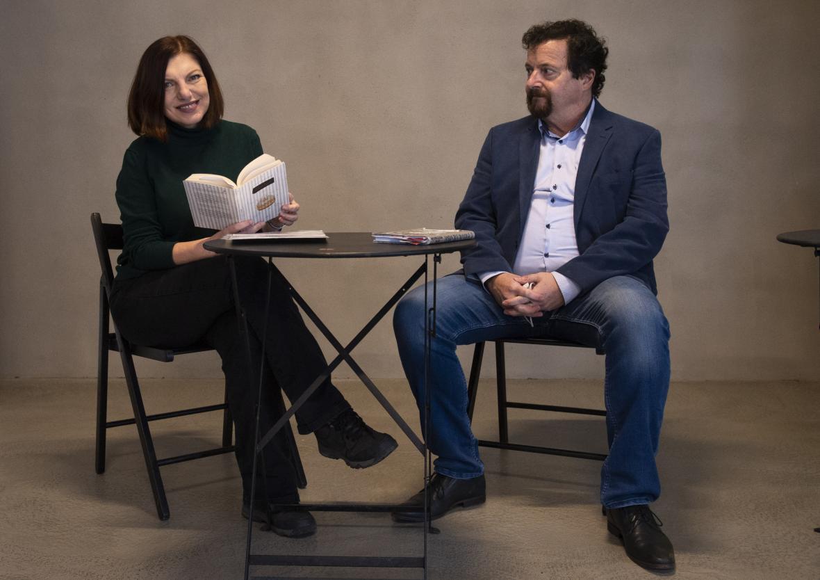 Alena Mornštajnová a Michal Viewegh