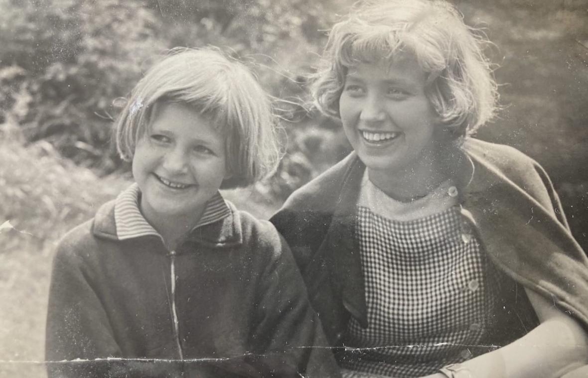 Zuzana Kyselková se sestrou Marií