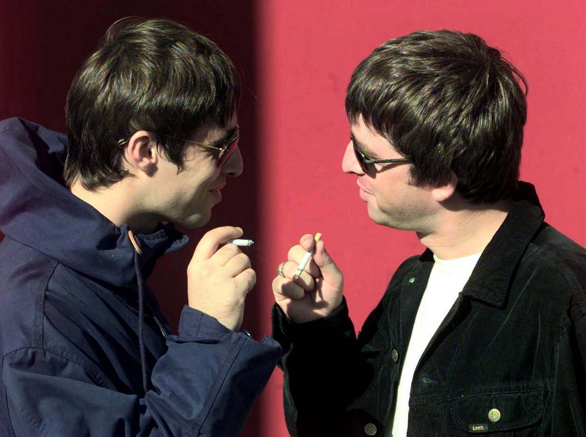 Liam a Noel Gallagherovi