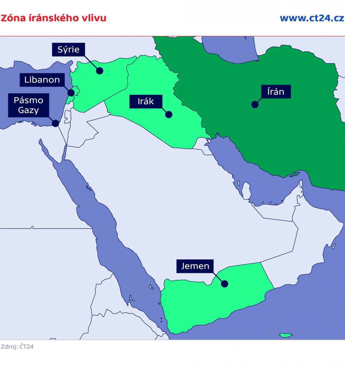 Zóna íránského vlivu