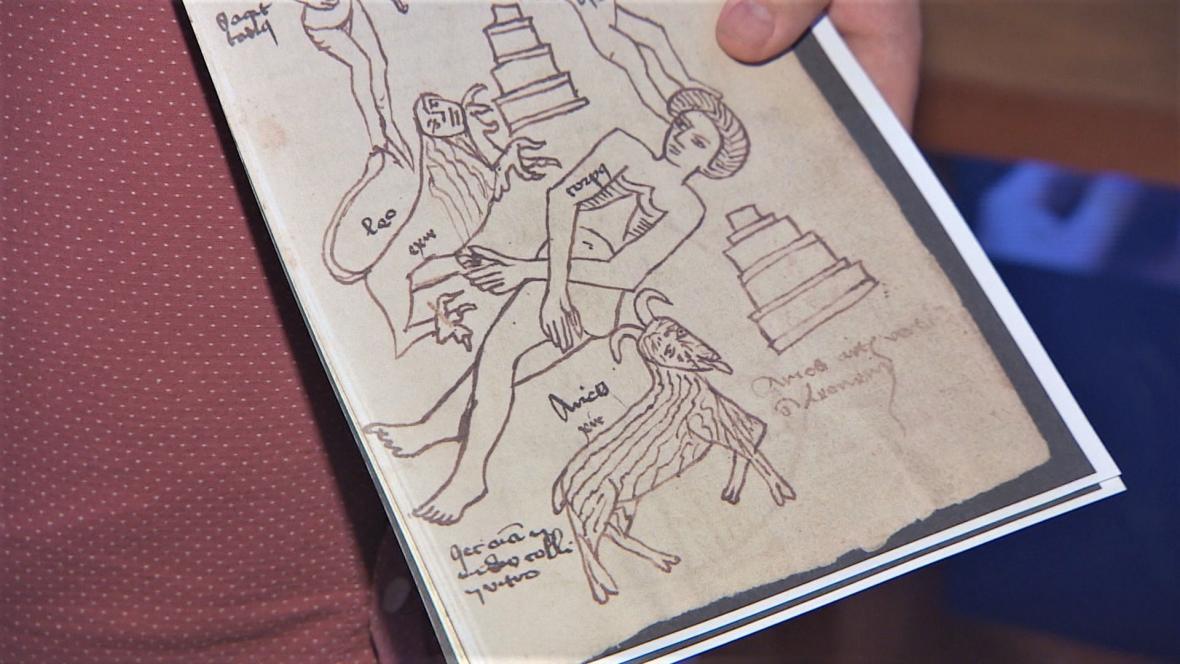 Alchymistické spisy obsahují i nákresy