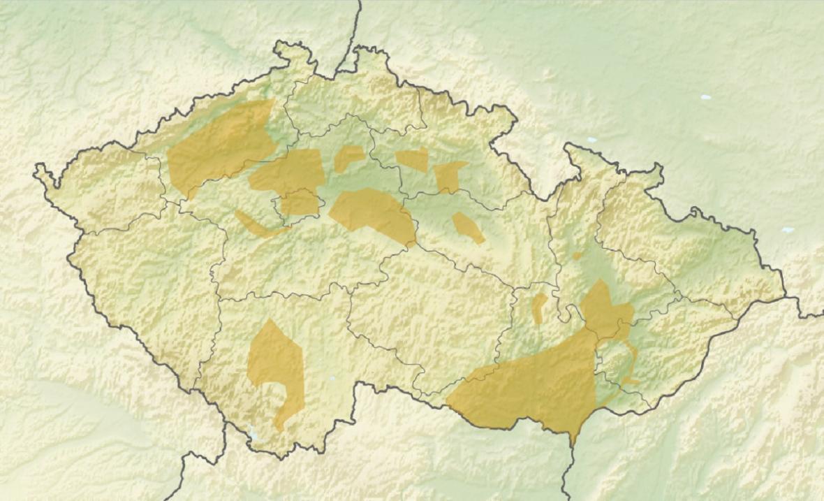 Sídelní oblasti únětické kultury na území České Republiky