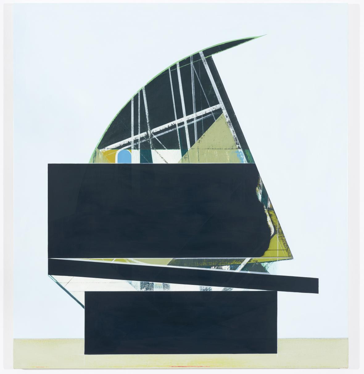 Frank Nitsche, SUL-01-2019, 2019, olej na plátně