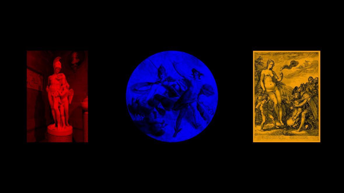 Pavel Mrkus, OBSERVATORY. 01 – Planety, 2020–2021, audiovizuální projekce