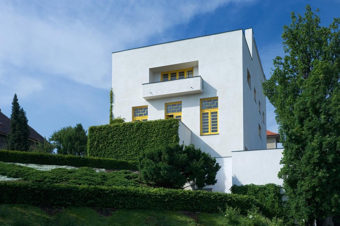 Müllerova vila (architekt: Adolf Loos, 1930)
