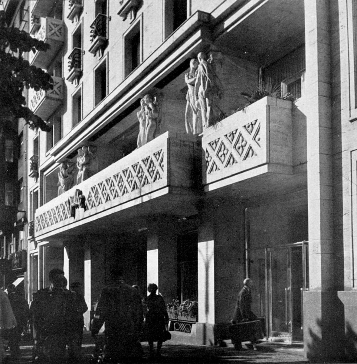 Hotel Jalta (architekt: Antonín Tenzer, 1959)
