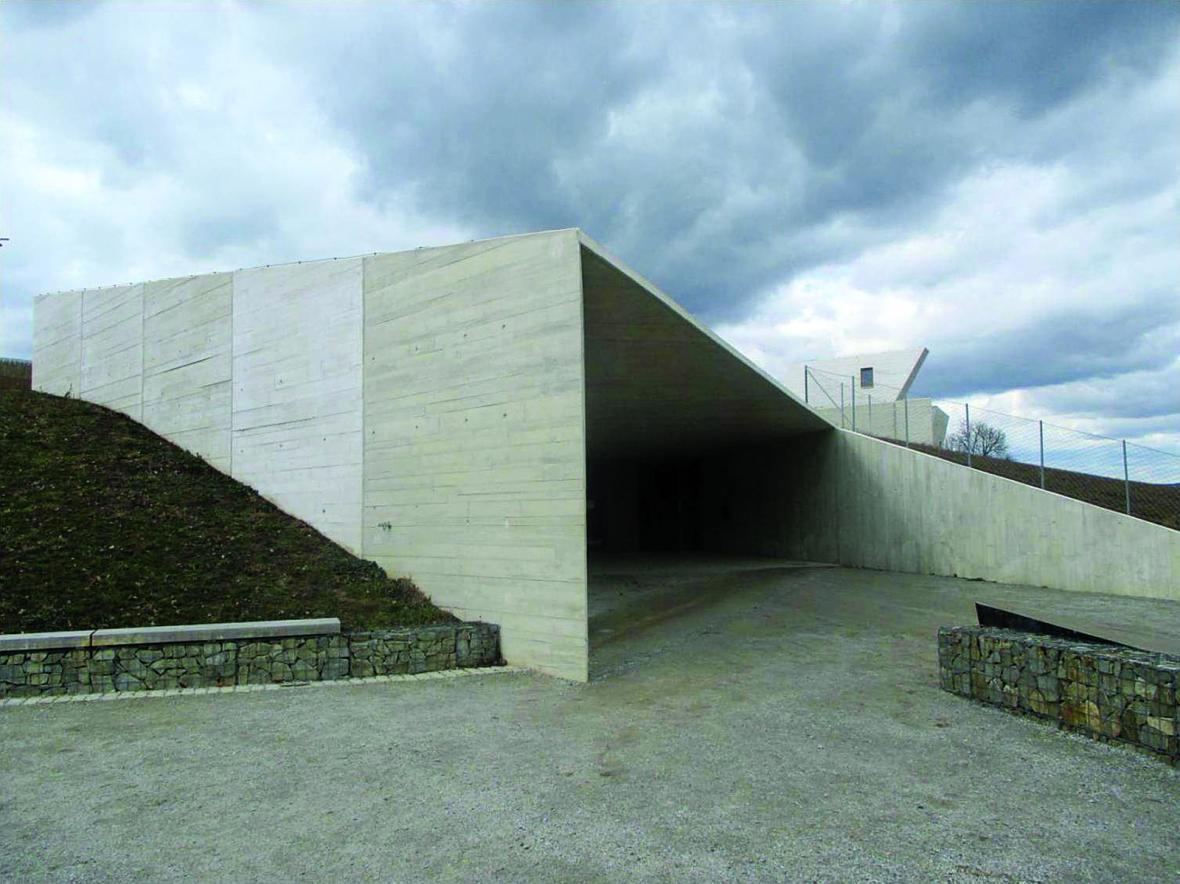 Archeopark Pavlov (architekt: Radko Květ, 2016)