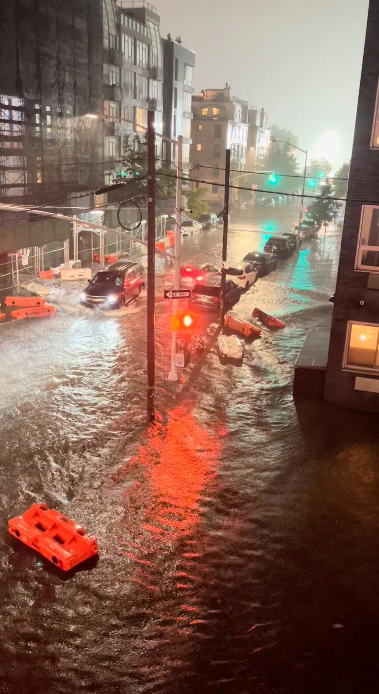 Bleskové záplavy v Brooklynu