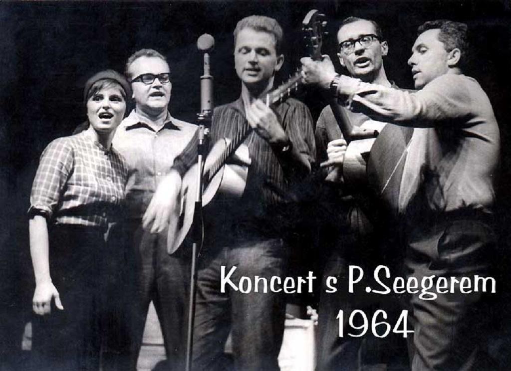 Spirituál kvintet se Petem Seegerem (1964)