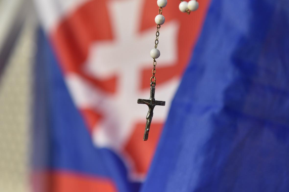 Mší svatou vyvrcholila Františkova návštěva Slovenska