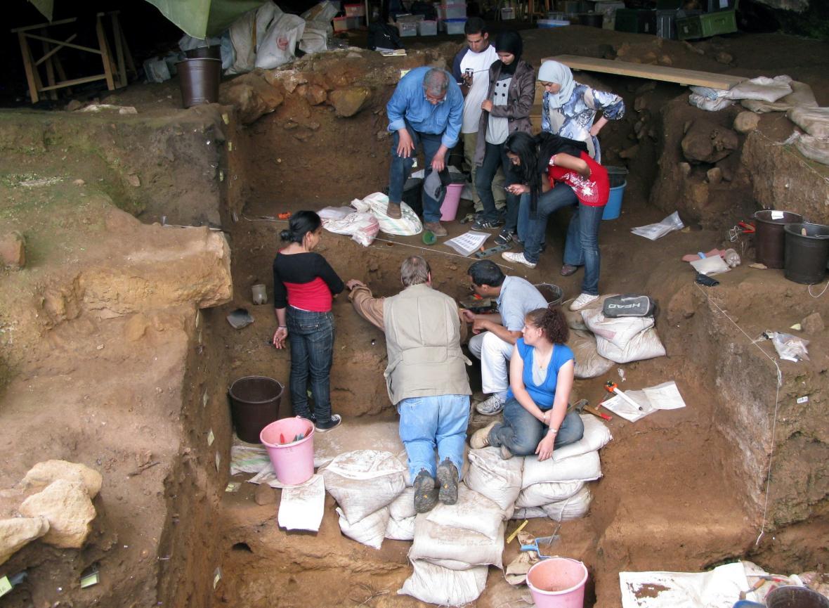 Archeologický výzkum v Maroku