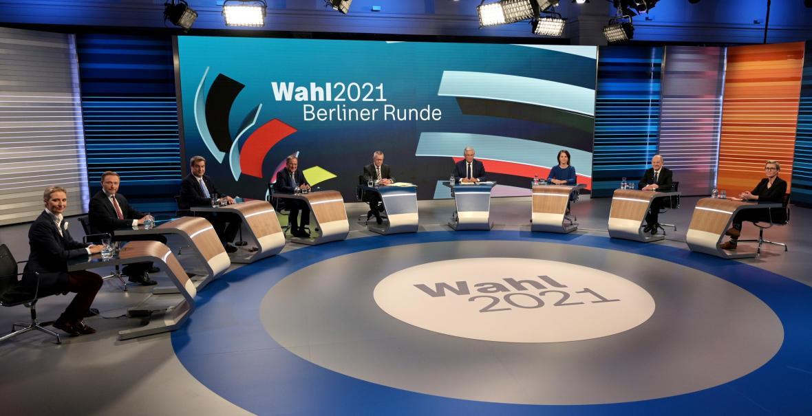 Večerní debata lídrů nejsilnějších stran