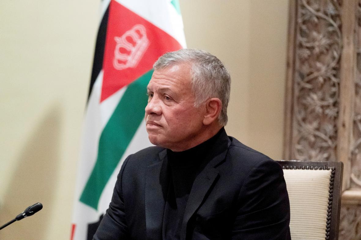 Jordánský král Abdalláh II.
