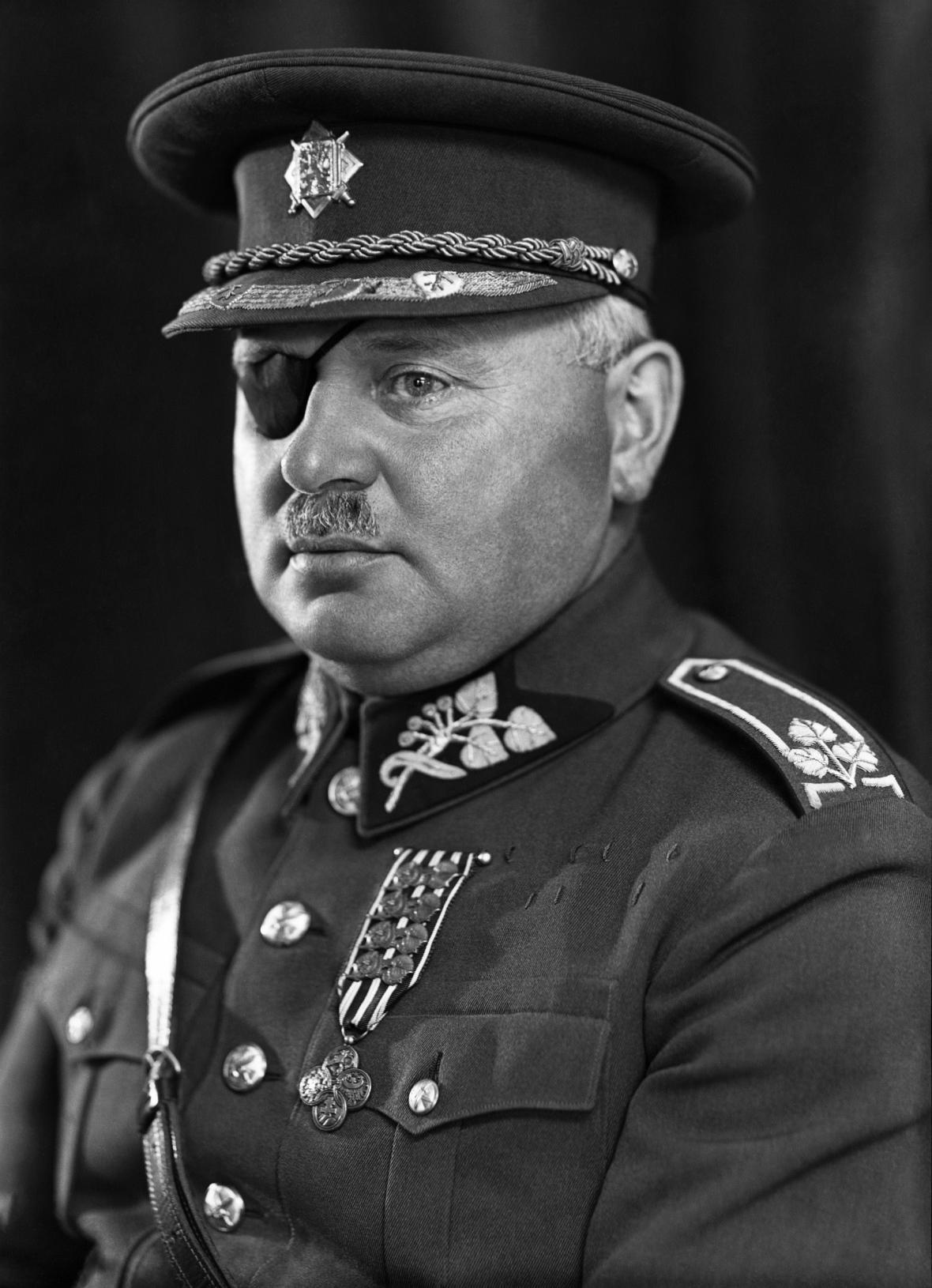 Generál Jan Syrový v roce 1933