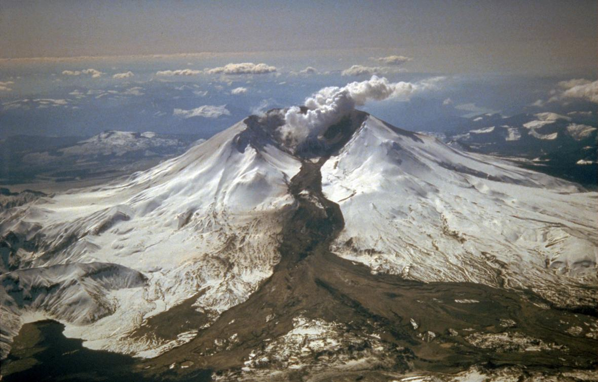 Erupce Mount St. Helens z roku 1982