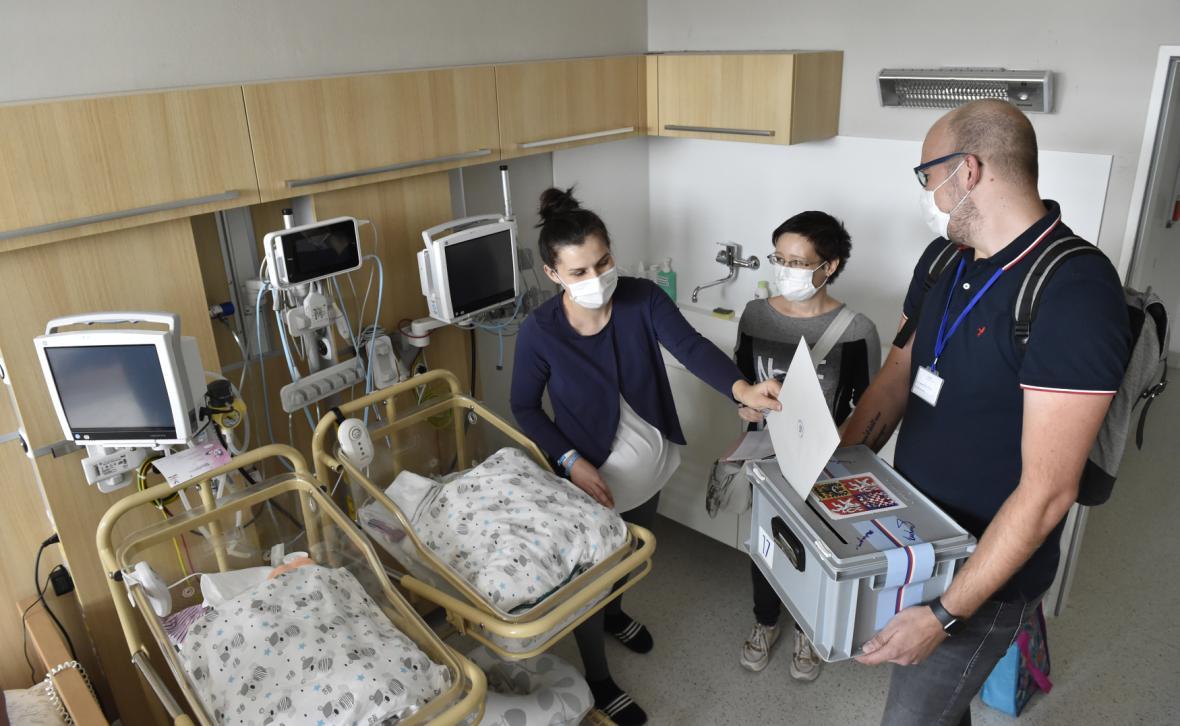 Hlasování v nemocnici