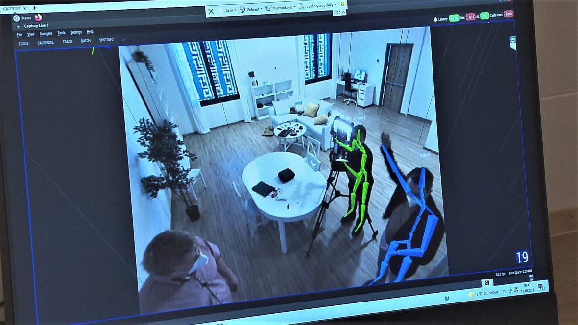 Pohyb v prostoru snímají kamery