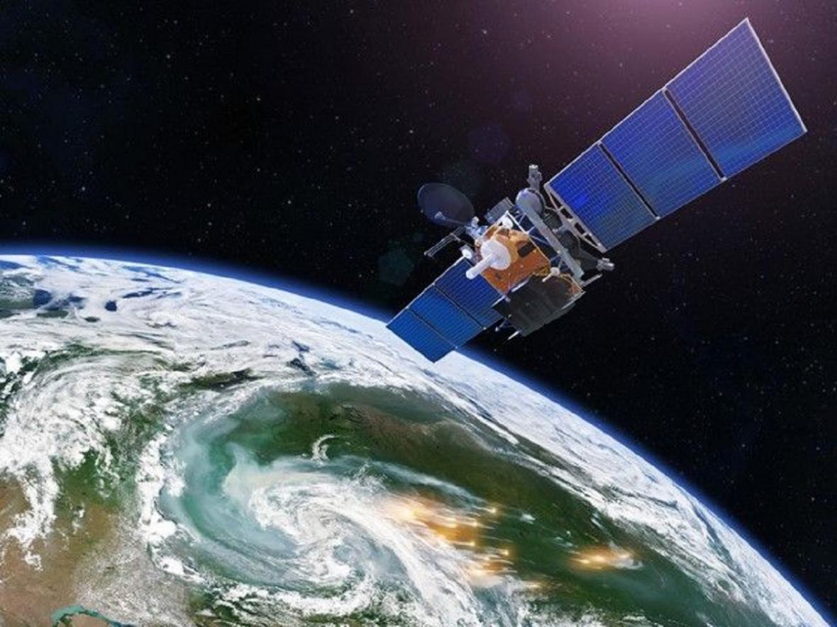 Vizualizace satelitu vyneseného pomocí rakety Skyrora
