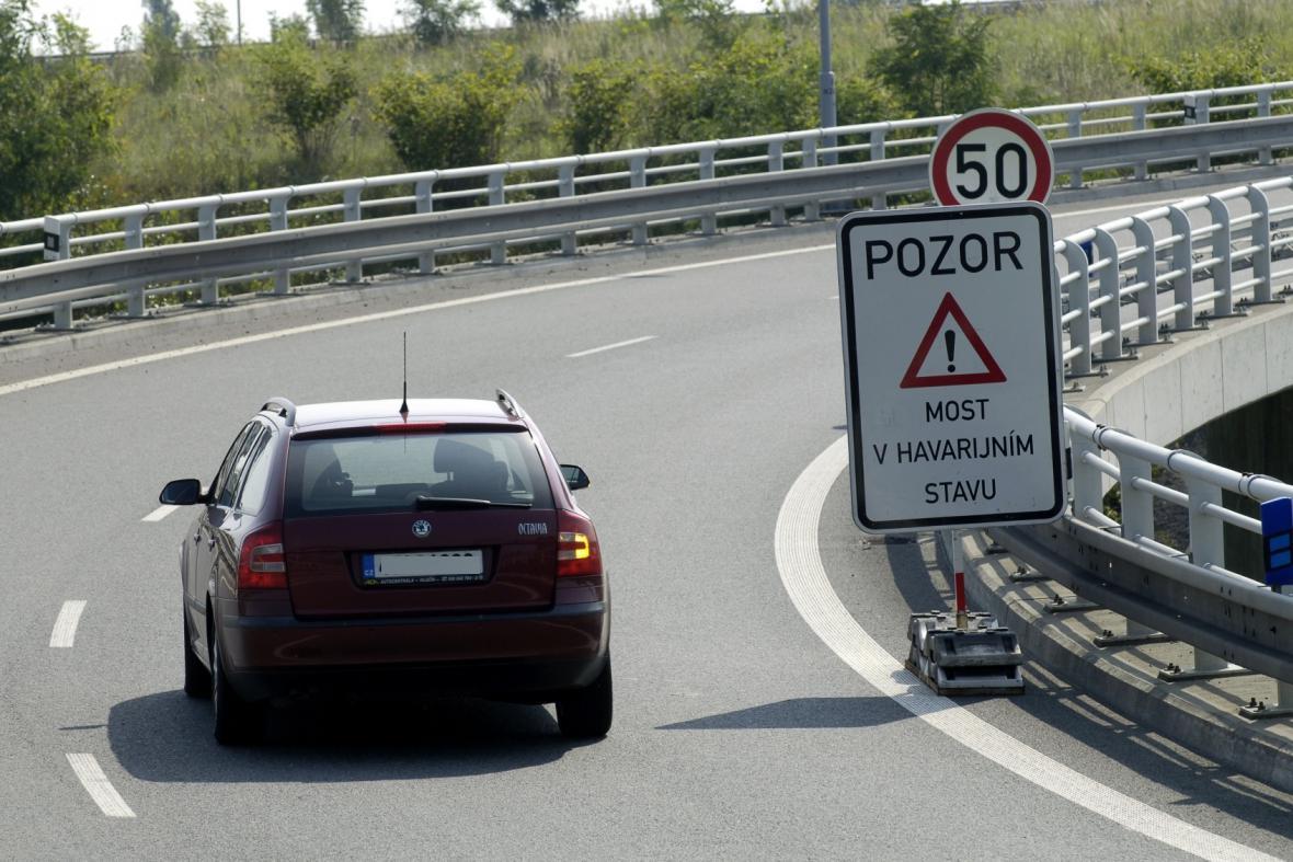 Most u Ostravy je v havarijním stavu