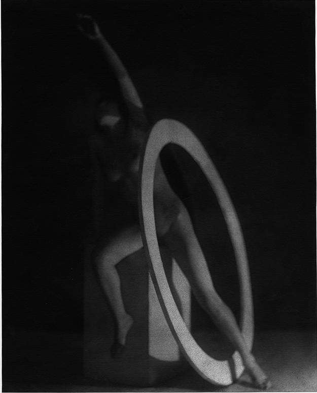 František Drtikol / Akt s kruhem, 1927