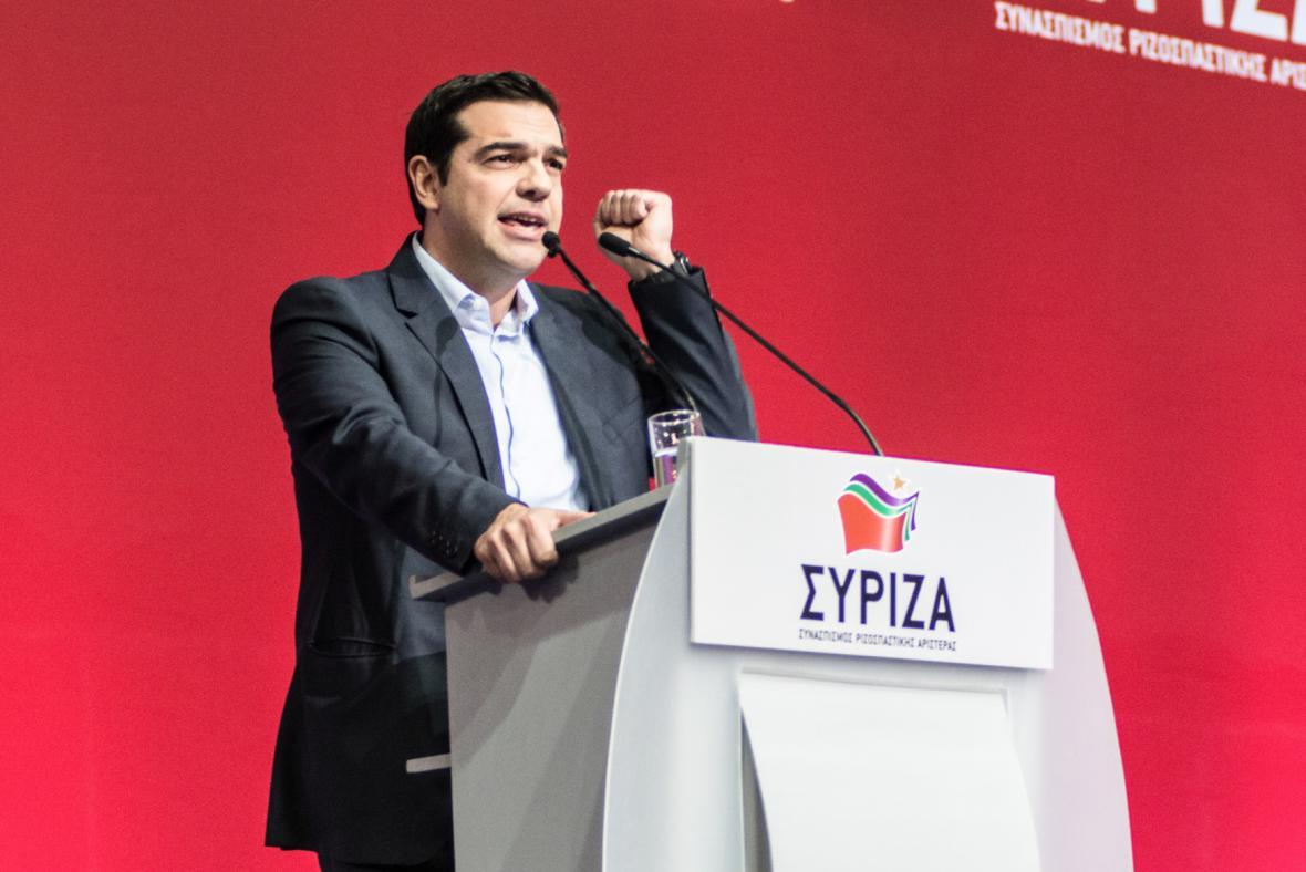 Alexis Tsipras, lídr radikální levicové strany Syriza