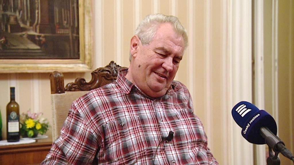 Miloš Zeman v Lánech