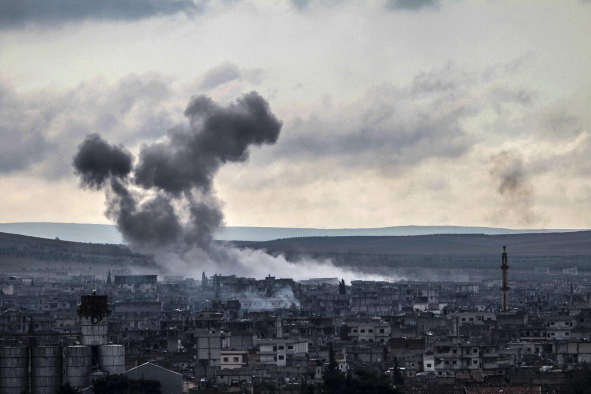 Boje o syrské město Kobani