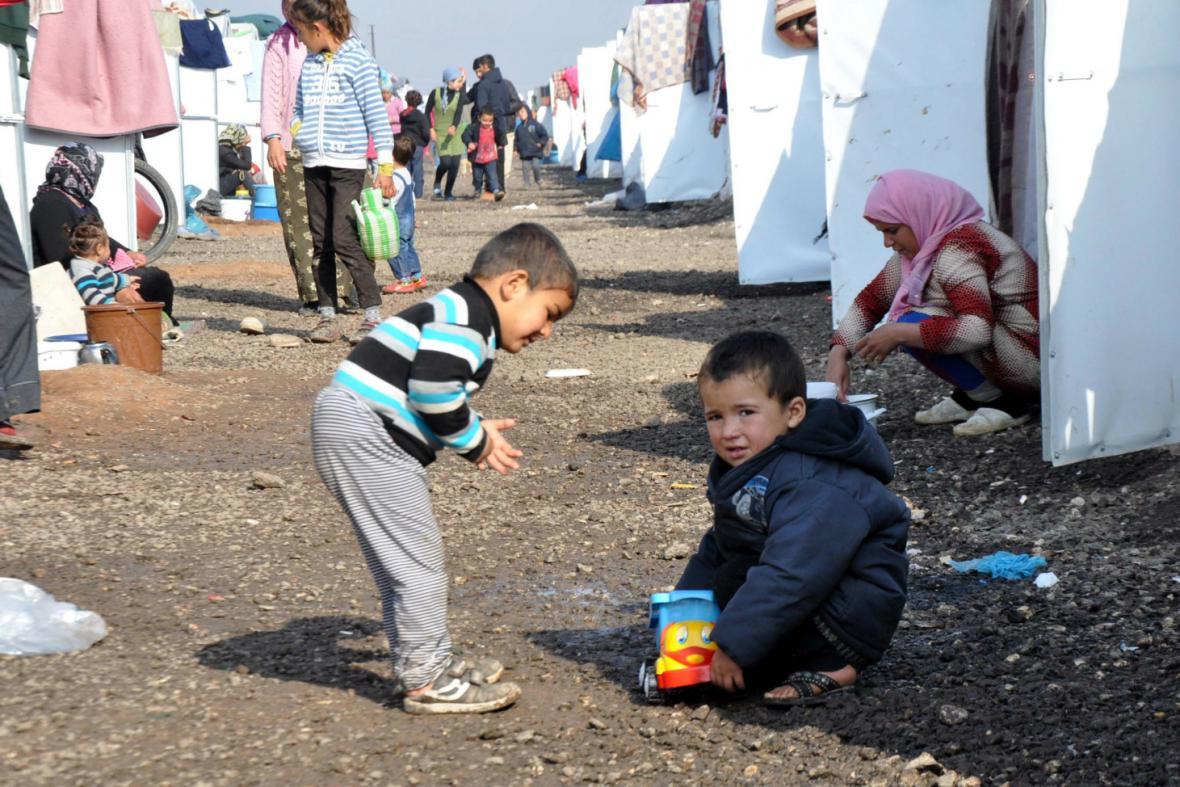 Syrští běženci