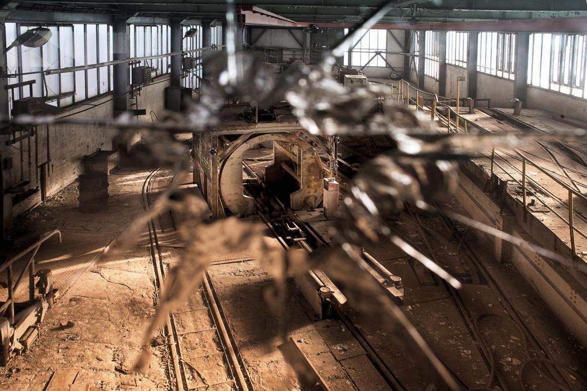 Areál hlubinné těžby uranu ve Stráži pod Ralskem