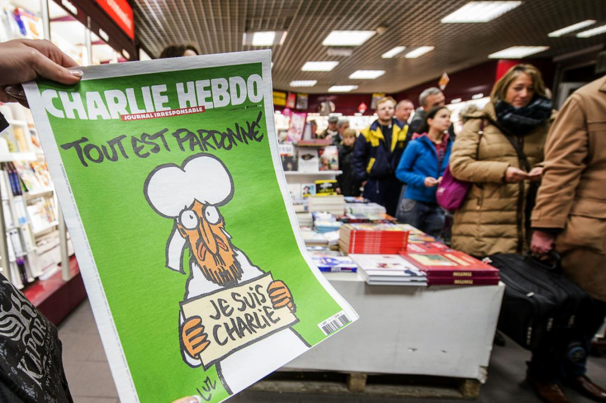 Fronta na Charlie Hebdo v Belgii