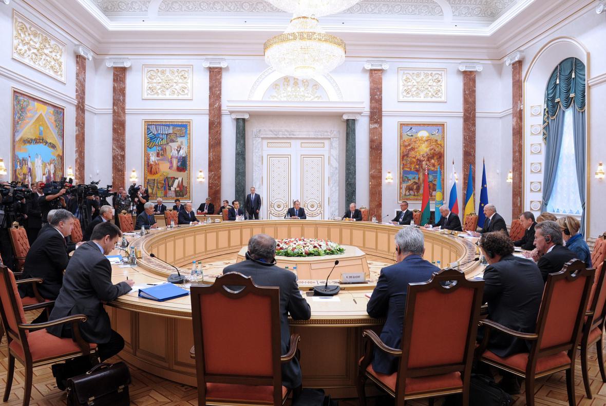 Summit celní unie s Ukrajinou a zástupci EU