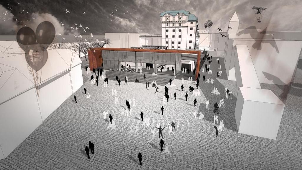 Vizualizace Kulturní fabriky Světovar