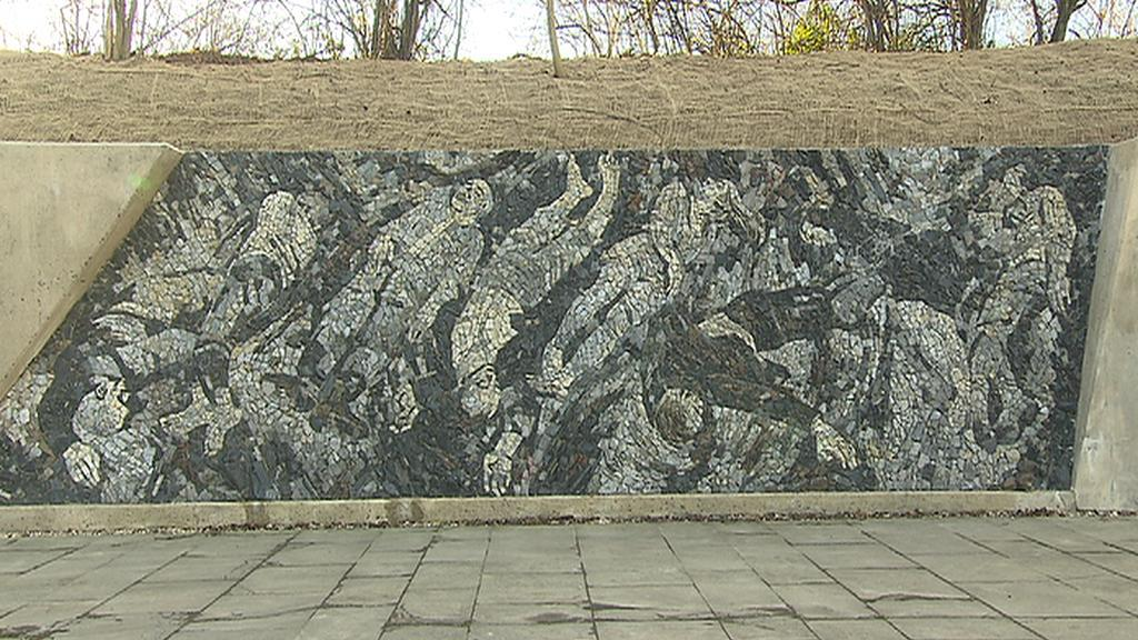 Mozaika na střelnici