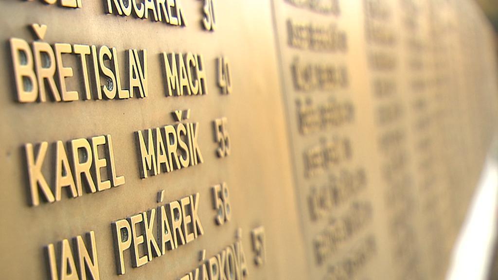 Jména popravených