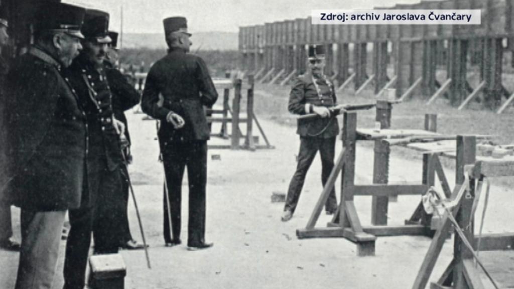 Střelnice v roce 1912