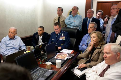 Americký bezpečnostní tým sleduje na videozáznamu zásah proti bin Ládinovi