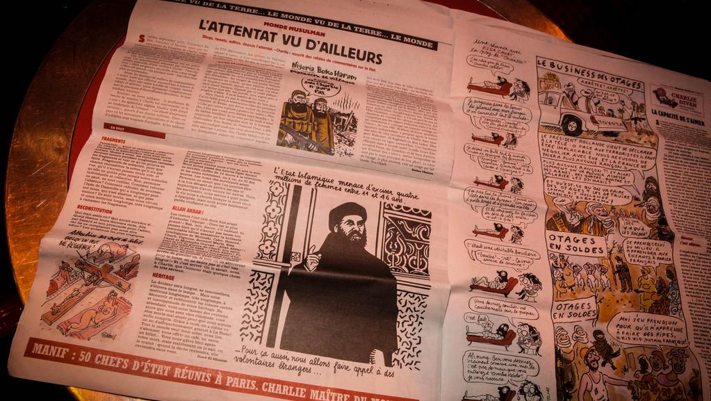 Z aktuálního čísla týdeníku Charlie Hebdo