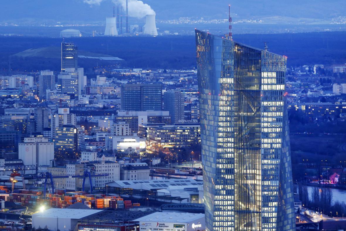 Sídlo Evropské centrální banky