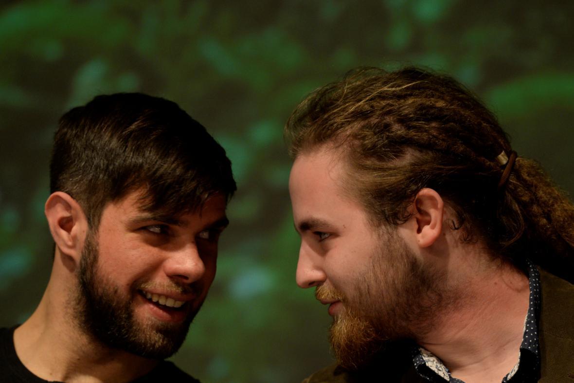 Jan Tůma a Dávid Sivý