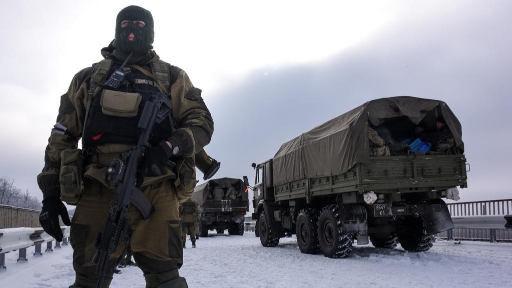 Proruští povstalci nedaleko letiště v Doněcku